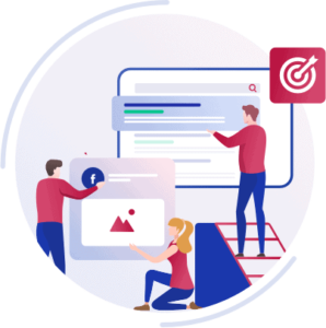 Mehrere Mitarbeiter der Webagentur nutzen Marketing und Analyse-Tools